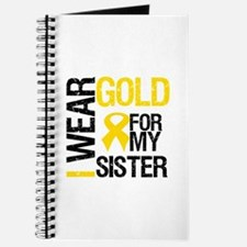 I Wear Gold For My Sister Journal