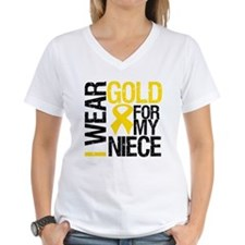 I Wear Gold For My Niece Shirt
