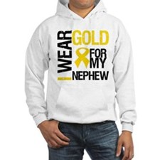 I Wear Gold For Nephew Hoodie