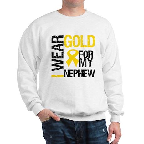 I Wear Gold For Nephew Sweatshirt
