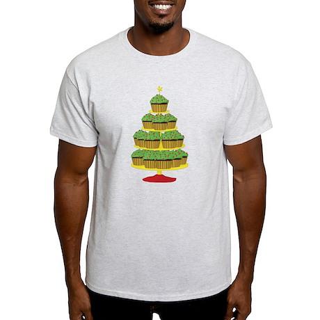 Cupcake Christmas Tree Light T-Shirt
