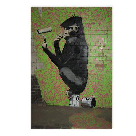 Banksy Spray Postcards (Package of 8)