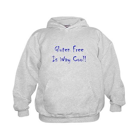 Gluten Free Is Way Cool! Kids Hoodie