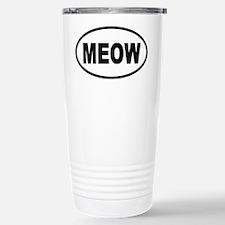 MEOW Cat Travel Mug