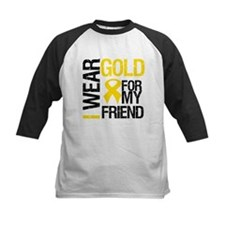 I Wear Gold For My Friend Tee