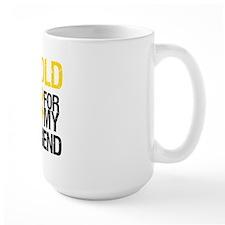 I Wear Gold For My Friend Mug