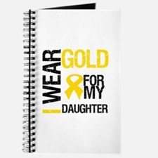 I Wear Gold For Daughter Journal