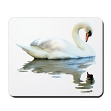 Swan Reflects Mousepad