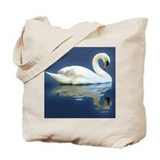 Swan Reflects Tote Bag