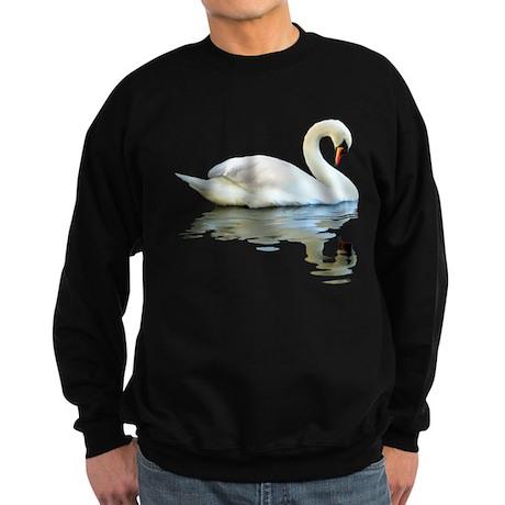Swan Reflects Sweatshirt (dark)