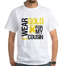 I Wear Gold For Cousin Shirt