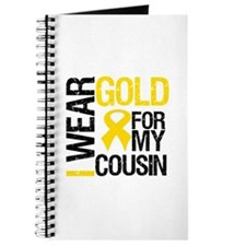 I Wear Gold For Cousin Journal