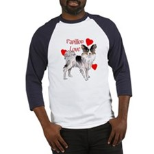 papillon love Baseball Jersey