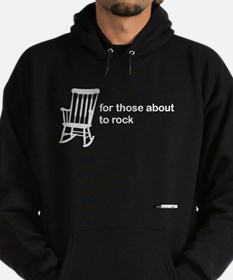 For Those About to Rock Hoodie (dark)