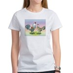 Ameraucana Chickens Pair Women's T-Shirt