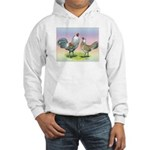Ameraucana Chickens Pair Hooded Sweatshirt