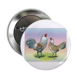 "Ameraucana Chickens Pair 2.25"" Button (100 pa"