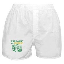 Play In Dirt Tractor Boxer Shorts