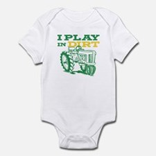 Play In Dirt Tractor Infant Bodysuit