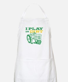 Play In Dirt Tractor BBQ Apron