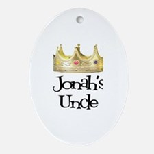 Jonah's Uncle Oval Ornament
