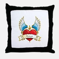 Cute Twilight valentines Throw Pillow