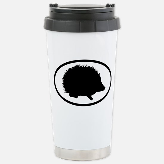 Hedgehog Stainless Steel Travel Mug