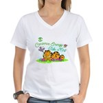 Conserve Energy Women's V-Neck T-Shirt