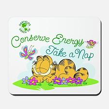 Conserve Energy Mousepad