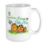 Conserve Energy Large Mug