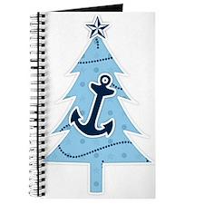 Navy Christmas Tree Journal