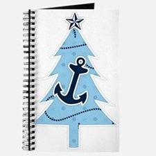 Navy Christmas Tree Journal