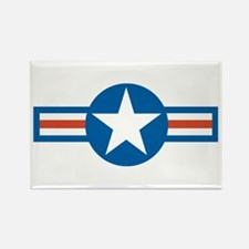 Air Force Roundel Rectangle Magnet