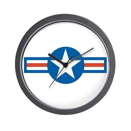 Air Force Roundel Wall Clock