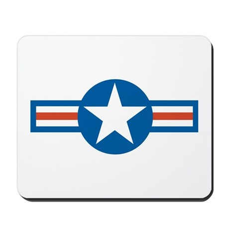 Air Force Roundel Mousepad
