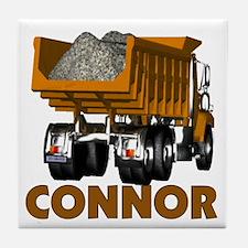 Connor Construction Dumptruck Tile Coaster