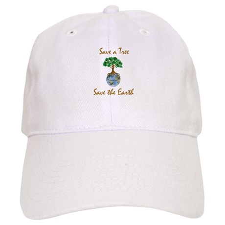 Save A Tree Save The Earth Cap