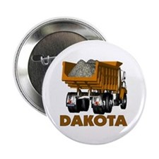 "Dakota Dumptruck 2.25"" Button"