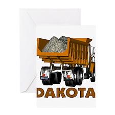 Dakota Dumptruck Greeting Card