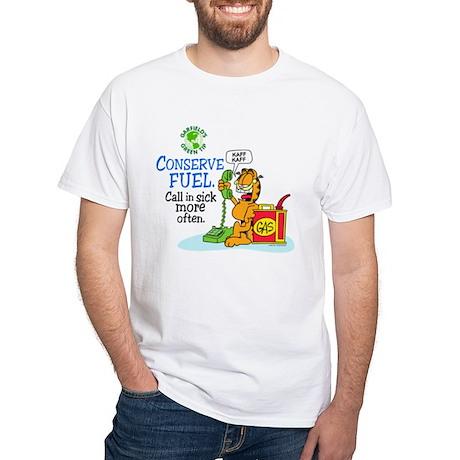 Conserve Fuel White T-Shirt