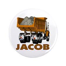 """Jacob Dumptruck 3.5"""" Button"""