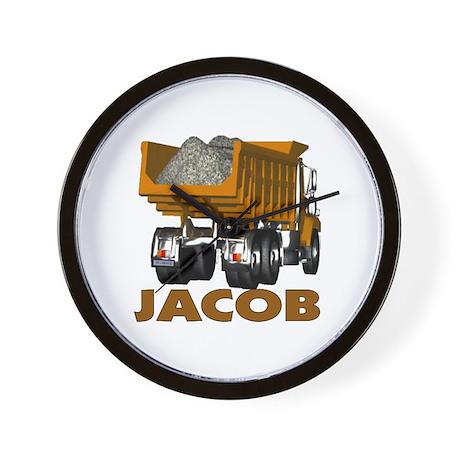 Jacob Dumptruck Wall Clock