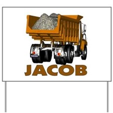 Jacob Dumptruck Yard Sign