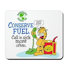 Conserve Fuel Mousepad