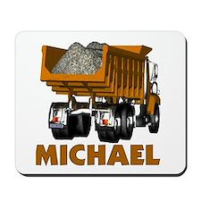 Michael Construction Dump Tru Mousepad