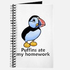 Puffins ate my homework Journal