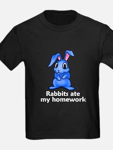 Rabbits ate my homework T