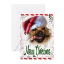 A Puggle Christmas Greeting Cards (Pk of 20)