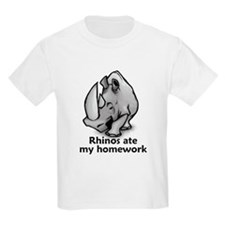 Rhinos ate my homework T-Shirt