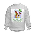 Organic Cleaners Kids Sweatshirt